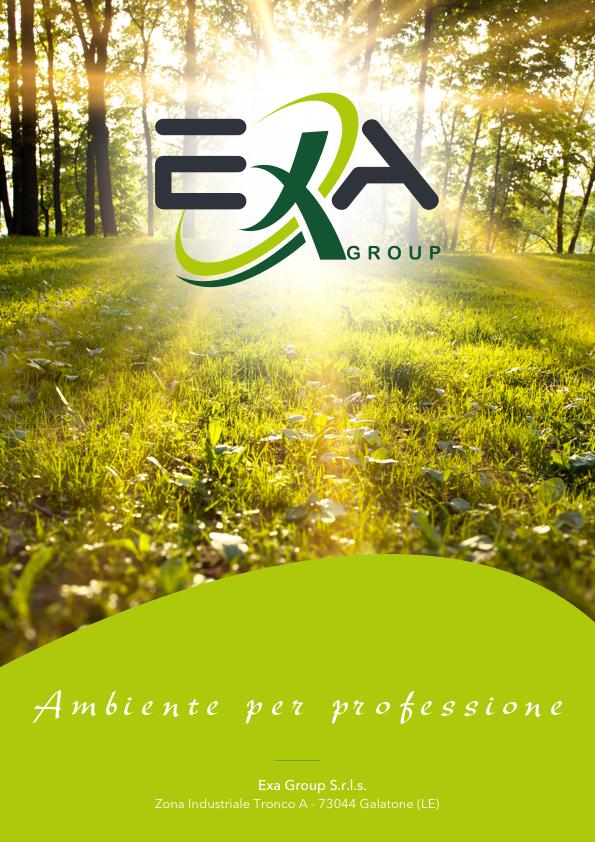 Brochure ExaGroup Ambiente